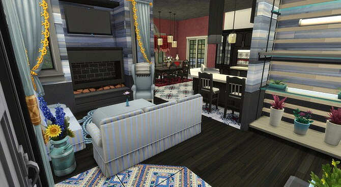 Sims 4 Amystika Cottage by Wykkyd at Mod The Sims 4