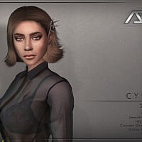 Cyber Style 2 Hairstyle By Ade_darma