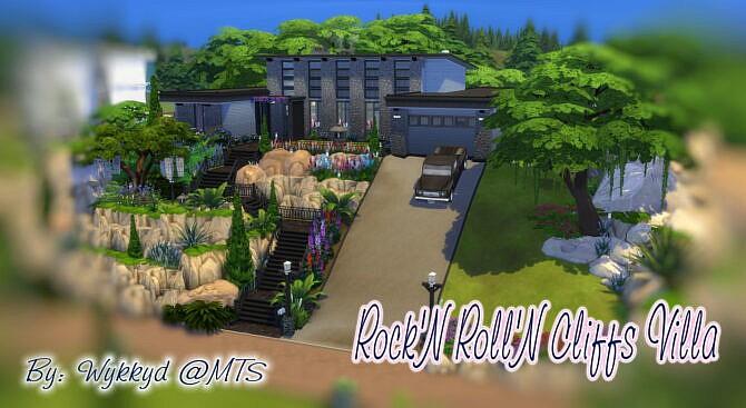 Rock'n Roll'n Cliffs Villa By Wykkyd