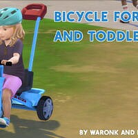 Bicycle For Kids And Toddler By Waronk