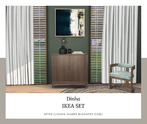 Sideboard & Bench (p)
