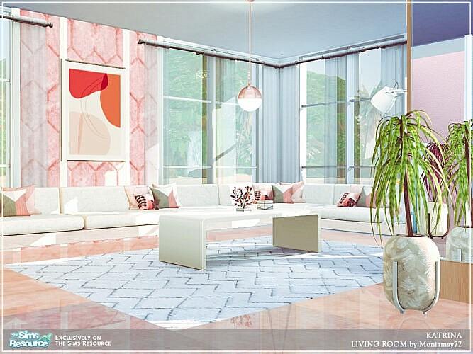 Katrina Living Room By Moniamay72