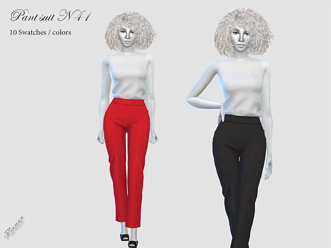 Sims 4 PANT SUIT N 41 by pizazz at TSR