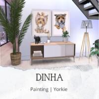 Painting – Yorkie