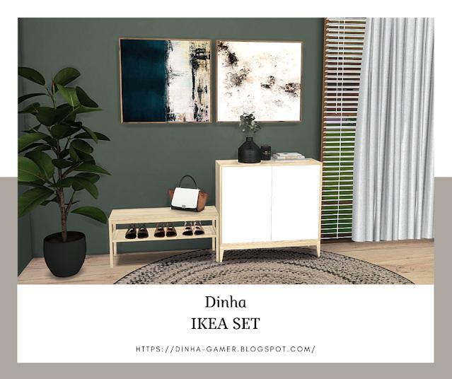 Sims 4 Sideboard & Bench (P) at Dinha Gamer