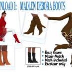 Debora & Andromeda Boots