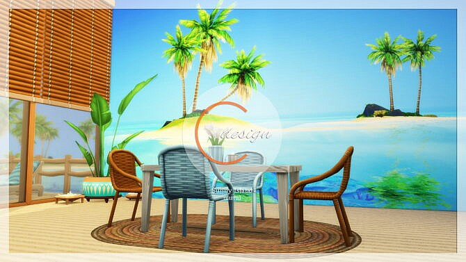 Sims 4 Wall Murals at Cross Design