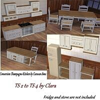 Conversion Champagne Kitchen By Clara