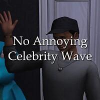 No Annoying Celebrity Wave By Lazarusinashes