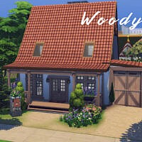 Woody House By Genkaiharetsu