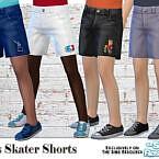 Boys Skater Shorts By Pelineldis
