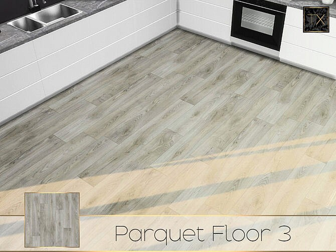 Sims 4 TX Parquet Floor 3 by theeaax at TSR