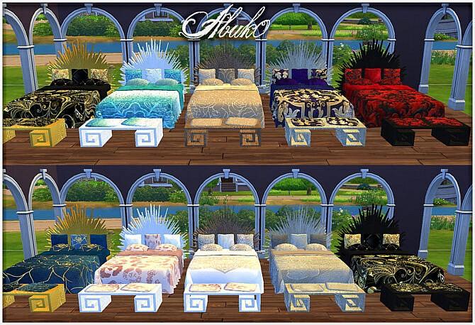 Sims 4 Otoko Living at Abuk0 Sims4