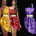 Squakia Dress By Jomsims