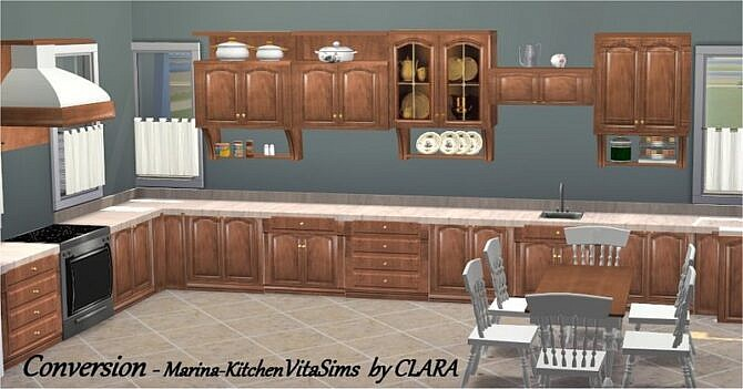 Conversion Marina Kitchen By Vitasims