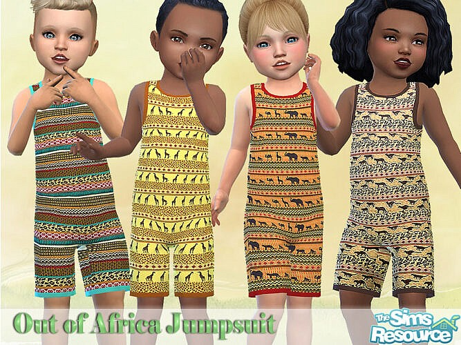 Out Of Africa Jumpsuit By Pelineldis