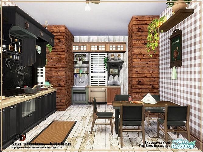 Sea Stories Kitchen By Danuta720