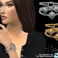 Coin Chain Bracelet By Natalis