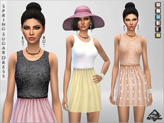 Spring Sugar Dresses By Devirose