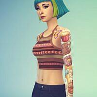 Cute Tattoo / Base Game By Tigodepresso