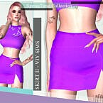 Springtime Collection Skirt Ii By Viy Sims