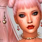 Princess Earrings By Suzue