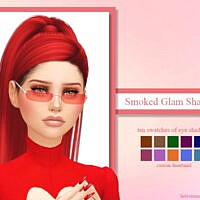 Smoked Glam Shadows By Ladysimmer94