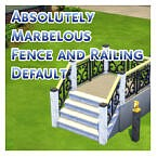 Absolutely Marbelous Fence And Railing Default By Menaceman44