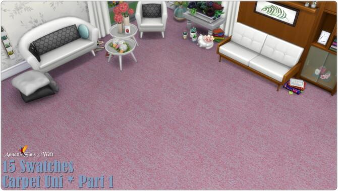 Sims 4 Carpets Uni Part 1   3 at Annett's Sims 4 Welt