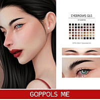 Gpme-gold F Eyebrows G15