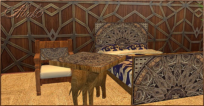 Sims 4 Gajah Living at Abuk0 Sims4