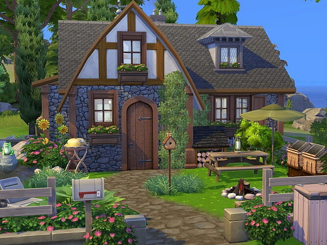 Candle Cottage Off The Grid By Flubs79
