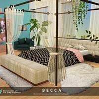 Becca Bedroom 2 By Melapples