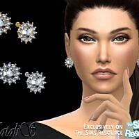 Vintage Inspired Diamond Earrings By Natalis