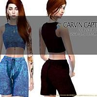 Hallo Short Set By Carvin Captoor