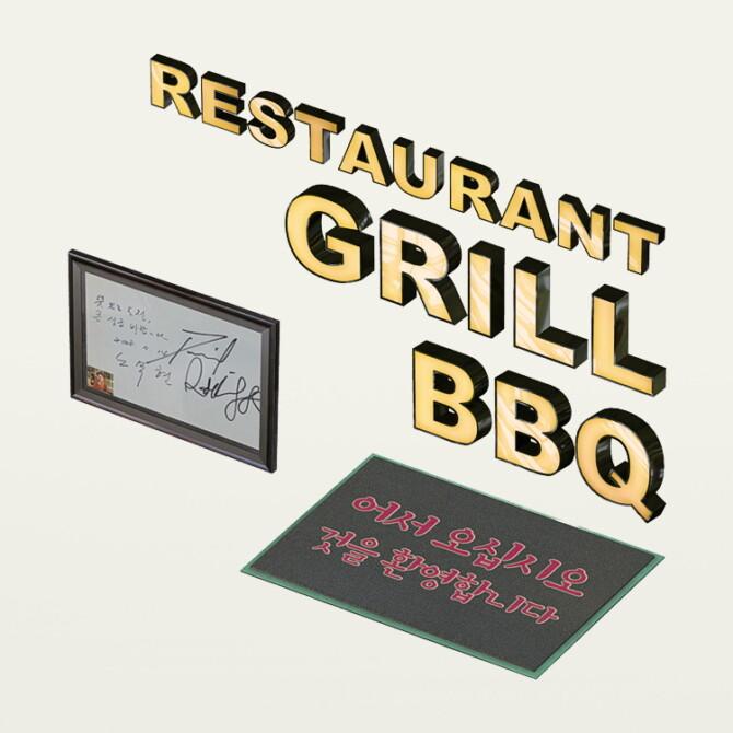 Sims 4 BBQ Jamwon korean restaurant at Slox