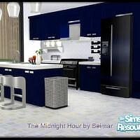 The Midnight Hour Kitchen Dining Set By Seimar8