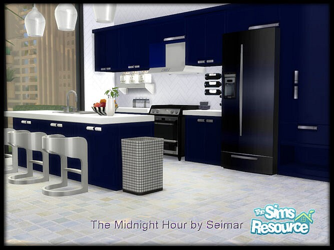 The Midnight Hour Kitchen Dining Set By Seimar8