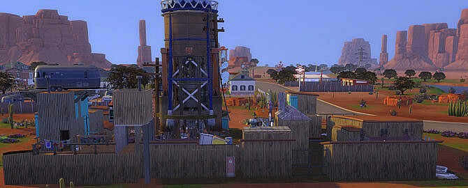 Sims 4 Fully furnished Diamond City Market by jwjj420 at Mod The Sims 4