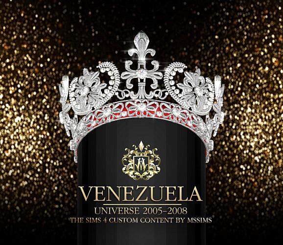 Venezuela Universe 2005 – 2008 Crown
