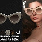 Acetate Cat-eye Frames