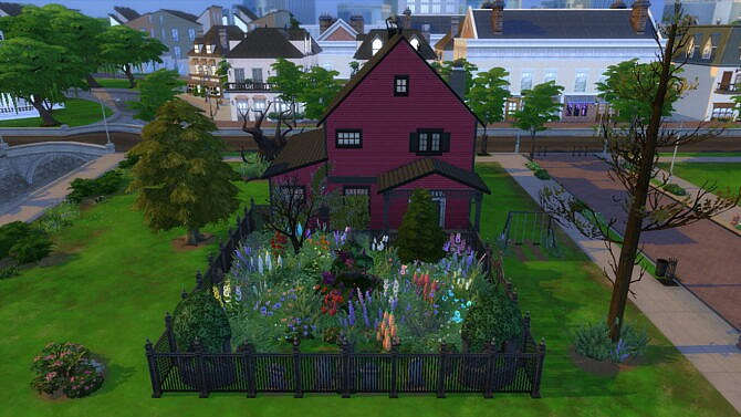 Sims 4 Haunted Vampire House by Brainl3ss at Mod The Sims 4
