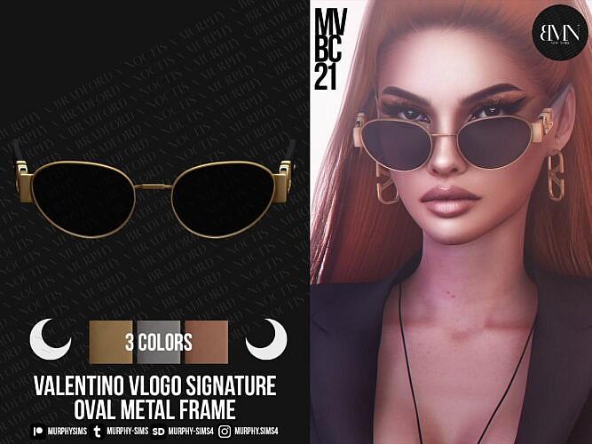 Oval Metal Frame