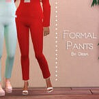 Formal Pants By Dissia