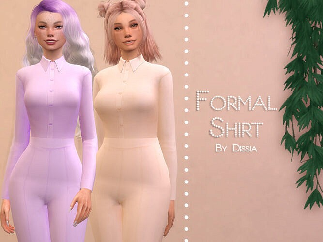 Formal Top By Dissia