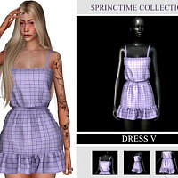 Springtime Collection Dress V By Viy Sims