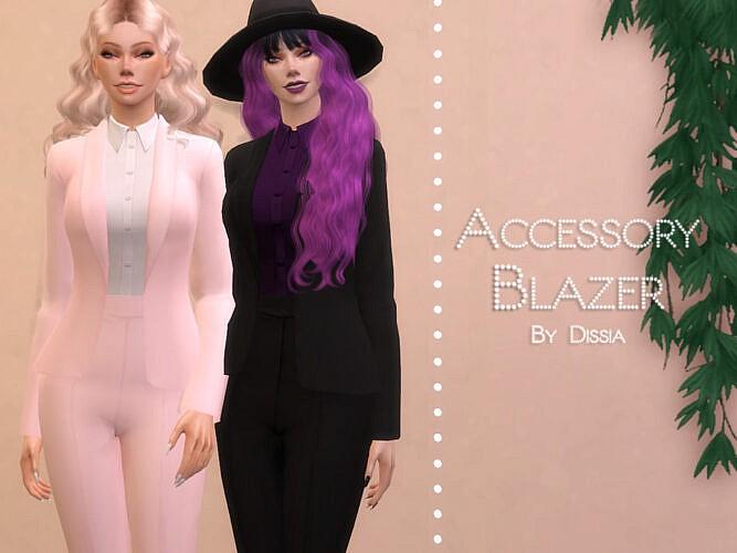 Accessory Blazer By Dissia