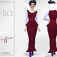 Griffin Dress By D.o.lilac