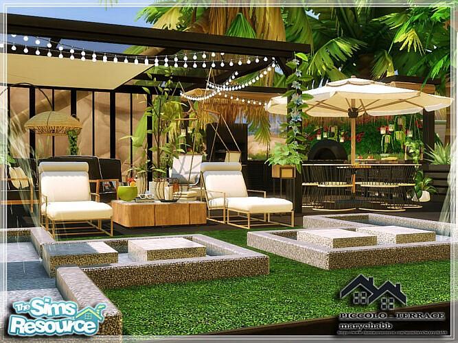 Piccolo Terrace By Marychabb