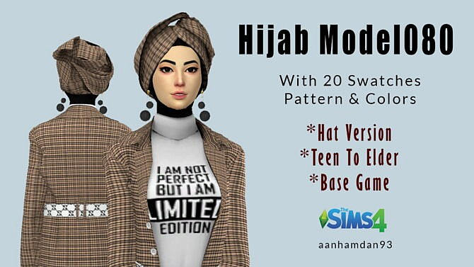 Sims 4 Hijab Model 080 & Tamita Longdress at Aan Hamdan Simmer93